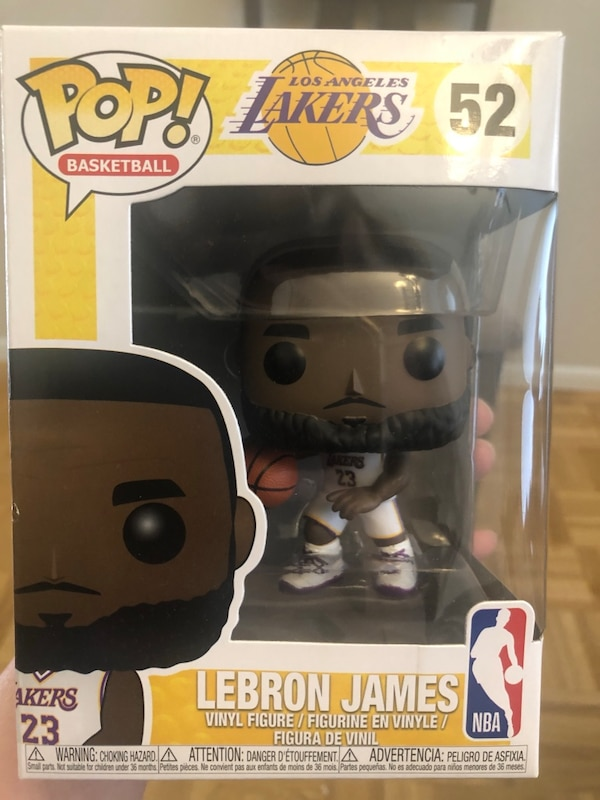 2e241b40db78 Used Funko Pop Basketball Lakers Lebron James  52 for sale in Los ...