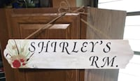 Dimentia wall decor hand painted name sign