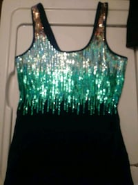 women's green and black tank top Stockton, 95206