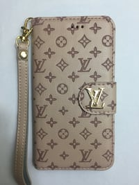 Wallet iPhone X Cases LV Design Chantilly, 20152