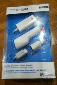 Innergie Auto or Air Adapter Brand New Mississauga