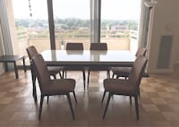 BoConcept table with four chairs dining set Bethesda, 20814