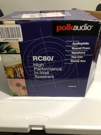Polk Audio RC80i Wall/Ceiling Speakers Beaufort, 29907