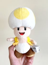 Yellow Toad Mario Plush - SANEI official All stars Collection cute  Burnaby, V5H