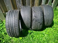 Used tires pneus usage Ironman 255 40 ZR18