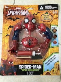 Spider-Man Pumpkin Decorating Kit Richmond, 77407