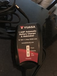 Yuasa 1Amp Automatic Battery Charger and Maintainer
