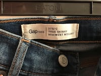 Gap 1969 jeans - size 27 - new condition - $25.00 and Black T - Joe Fresh - new condition- $8.00 Vancouver, V6K 2W4