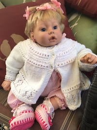 Life like baby doll Swipe Up to see more photos  Barrie, L4N 1G6