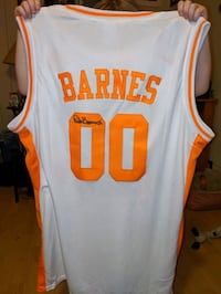 Autographed Tennessee Vols Coach Rick Barnes Jersey