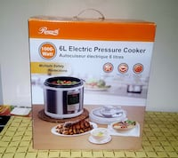 ROSEWILL 6L Electric Pressure Cooker