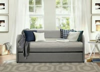 Roland Gray Daybed with Trundle   1201 mi