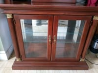 Wood Dinning room cabinet and mirror Stephens City, 22655