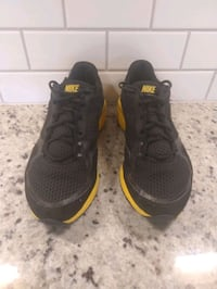 NIKE Lunar Edge Sneakers Black Yellow Training Shoes