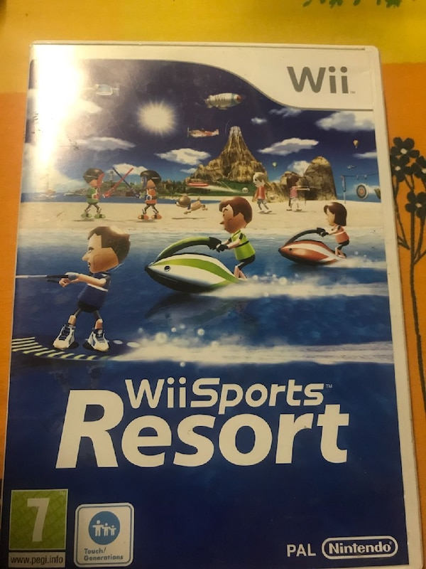 Jeux de Wii sports resort