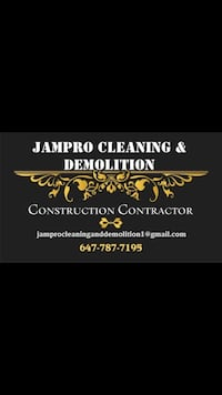 JamPro Cleaning and Demolition Toronto