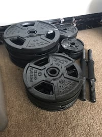 "Gold's Gym 1"" Weight Set Pittsburgh, 15205"