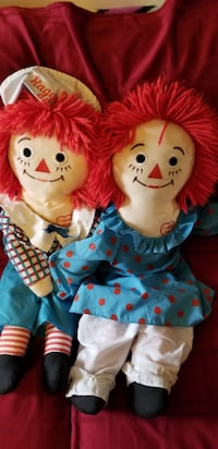 Vintage raggedy Ann and Andy Lawrence Township