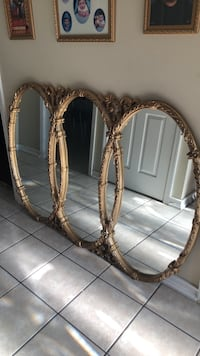 Beautiful gold leaf mirror 62 inches in length and 43 inches in height, beautiful condition  Mount Sinai, 11766