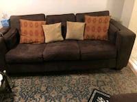 2 brown sofas in excellent condition Mississauga, L5R 2Y4
