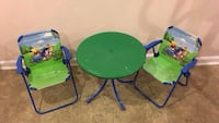 Winnie the Pooh children's table and chairs Manassas