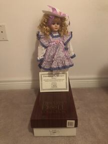 Porcelain Doll with original box