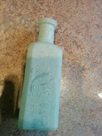 Hires root beer opalized syrup bottle 1896 Hamilton, L9C 5K7