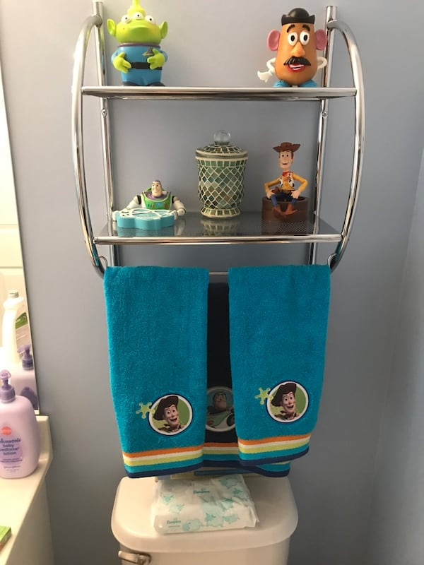 Used Toy Story Bathroom Set For In