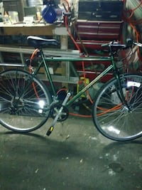 green and black road bike Lynn, 01902
