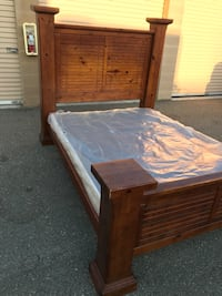 QUEEN BED FRAME/ BOX SPRING Vacaville, 95687
