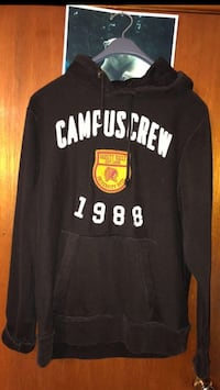 Like New- Unisex XL Campus Crew Sweater $10 (bought off here too big)  Trenton, K8V 2X8