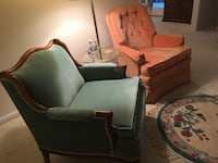 Two living room chairs Oakton