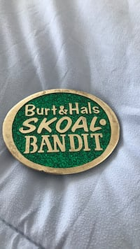 Burt Reynolds belt buckle from Smokey and the Bandit. Serial number on back. Only a few made Bokeelia, 33922