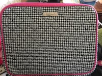 black,white and pink luggage bag Hendersonville, 37075