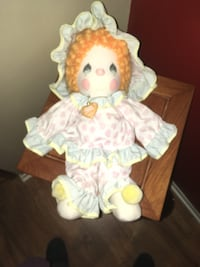 """Precious Moments """"Peggy"""" the Clown Doll Kentwood"""