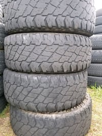 Set of 295-70-18 tires