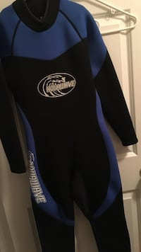 blue-and-black Aquawave wetsuit Concord, 03301
