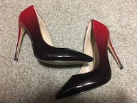 pair of red-and-black pointed-heeled shoes Phoenix, 85024