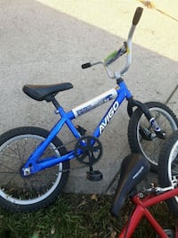 blue and white BMX bike Edmonton, T5A 2A9