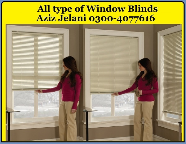 Window Blinds For Home And Office