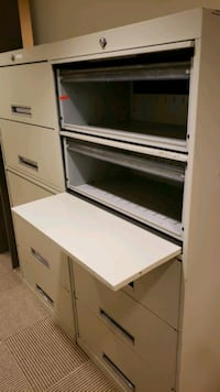 Two upright file cabinets. Fort Worth, 76177