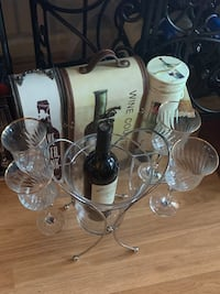 Wine cooler and glasses  Des Peres, 63131