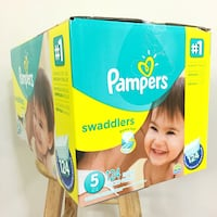 Pampers Size 5 Swaddlers (124 diapers) Anaheim