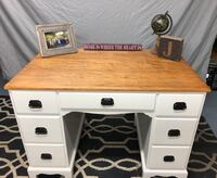 Vintage Solid Wood Desk - Farmhouse Style Grayslake, 60030