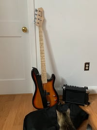 Davison Electric Bass Guitar