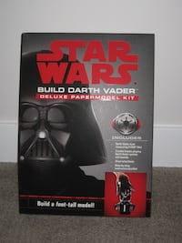 NEW Star Wars - Build Darth Vader - Deluxe Paper Model Kit Puzzle Calgary