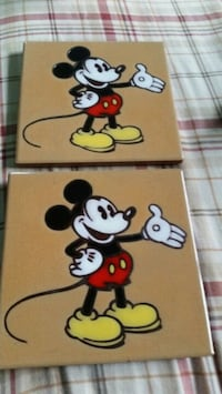 Mickey mouse hot plate