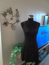 Black Sparlely Party Dress small size Las Vegas, 89118