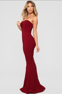 Classy red ball gown Toronto, M5S 3K9