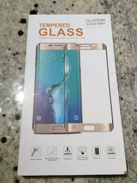 Tempered glass for Samsung Galaxy S7 edge black